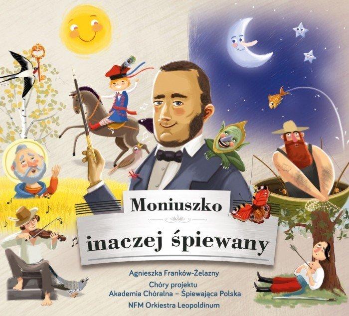 """Okładka płyty """"Moniuszko inaczej śpiewany"""""""