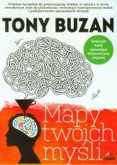 """Okładka książki """"Mapa twoich myśli"""" Tony Buzan"""