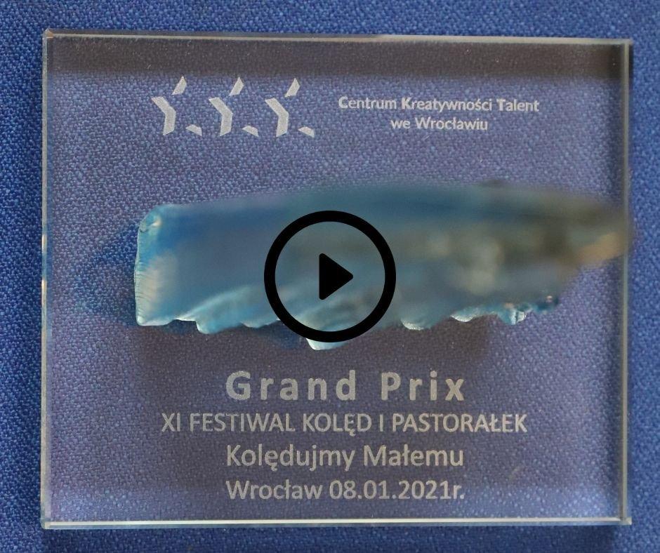 Pierwsza statuetka GRAND PRIX przyznana!